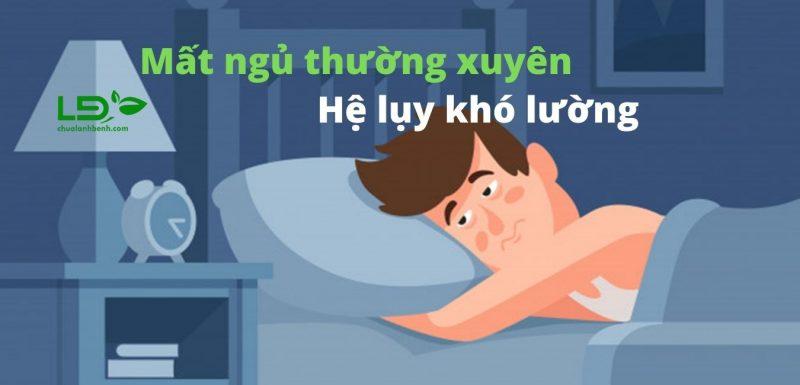 Tác hại của mất ngủ thường xuyên