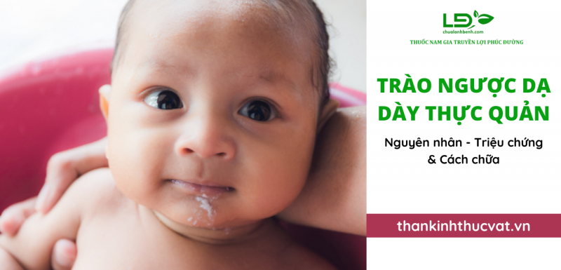 Trào ngược dạ dày thực quản ở trẻ 2 tuổi
